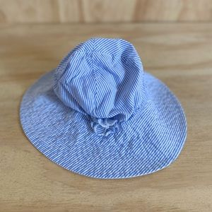 Carter's Blue and White Stripped Sun Hat